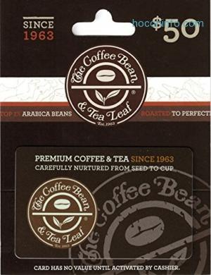 ihocon: The Coffee Bean & Tea Lea Gift Card