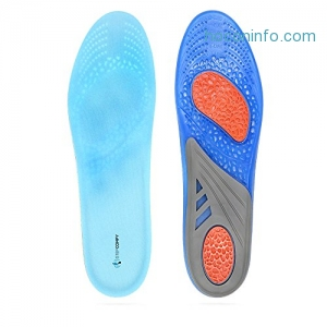 ihocon: Gel Sport Replacement Insoles for Men & Women鞋墊