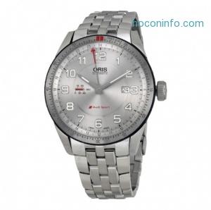 ihocon: ORIS Artix GT Audi Sport Automatic Silver Dial Stainless Steel Men's Watch 747-7701-4461MB