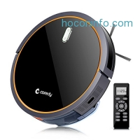 ihocon: Coredy 智能吸地/拖地機器人Robotic Vacuum with Mop and Water Tank, Self-Charging, Daily Schedule Cleaning