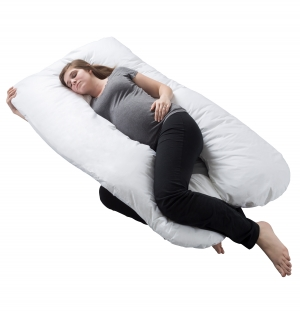 ihocon: Pregnancy Pillow, Full Body Maternity Pillow with Contoured U-Shape, Back Support - Walmart.com 懷孕枕頭,全身孕婦枕頭,輪廓形,背部支撐 - .