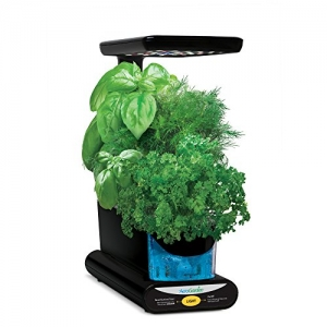 ihocon: AeroGarden Sprout LED with Gourmet Herb Seed Pod Kit, Black 室內植物生長機