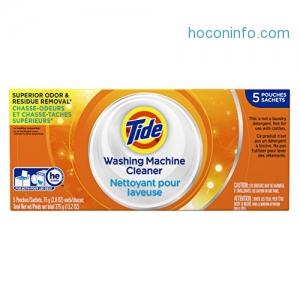ihocon: Tide Washing Machine Cleaner 5 Count洗衣機清潔劑