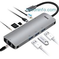 ihocon: Tikko USB C Hub, USB C Adapter with Type C Charging Port