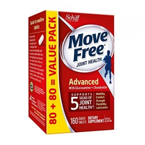 ihocon: Move Free Advanced, 160 tablets - Joint Health Supplement with Glucosamine and Chondroitin   ,160粒 - 含有氨基葡萄糖和軟骨素的關節健康補充劑
