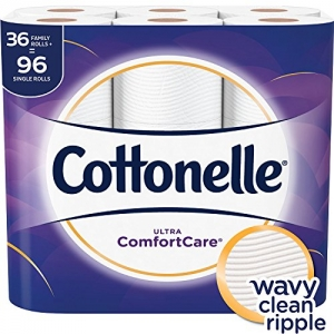 ihocon: Cottonelle Ultra ComfortCare Toilet Paper, Soft Bath Tissue, 36 Family Rolls廁所捲筒衛生紙