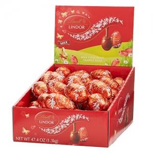 ihocon: Lindor Milk Chocolate Eggs, 24 Count 蛋型巧克力