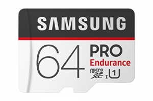 ihocon: Samsung Pro Endurance 64GB Micro SDXC Card Adapter - 100MB/s U1 (MB-MJ64GA/AM)