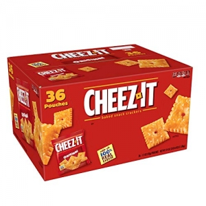 Cheez-It Baked Snack Cheese Crackers 36包 $6.18免運(原價$9.51, 35% Off)