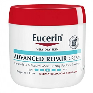 ihocon: Eucerin Advanced Repair Cream - Fragrance Free, Full Body Lotion for Very Dry Skin - 16 oz. Jar