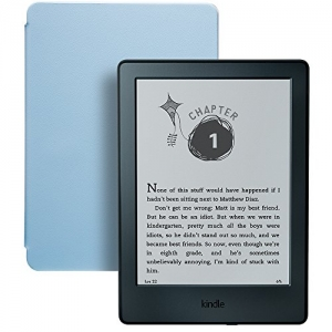 ihocon: Kindle for Kids Bundle with Kindle E-reader 8th Generation, 2-Year Worry-Free Guarantee, Blue Cover