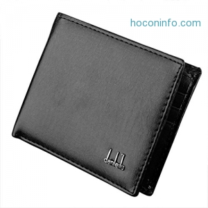 ihocon: [RFID Blocking] Jingjing1 Men's Synthetic Leather Wallet