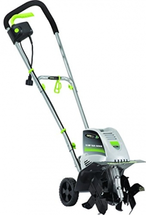 ihocon: Earthwise TC70001 Electric Corded Tiller, 11-Inch, 8.5-Amp, Grey 電動耕耘機/翻土機