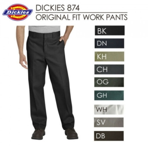 ihocon: Dickies Men's 874 Original Fit Classic Work Pants 男士長褲