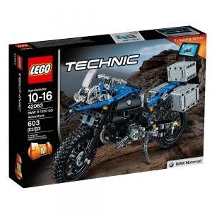 Amazon: LEGO Technic系列積木特價, 像是LEGO Technic BMW R 1200 GS Adventure 42063 $44.99免運(原價$59.99, 25% Off)