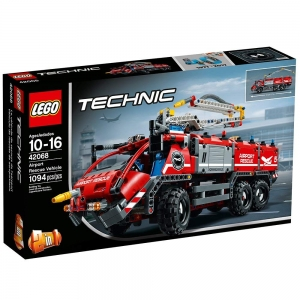 ihocon: LEGO 樂高Technic Airport Rescue Vehicle 42068 Building Kit (1094 Piece) 機場救援車