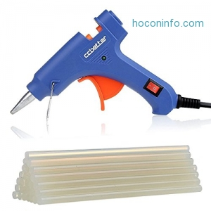 ihocon: CCbetter Mini Hot Melt Glue Gun with 25pcs Glue Sticks