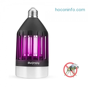 ihocon: Bworppy Bug Zapper Light Bulb補蚊燈泡