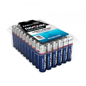 ihocon: RAYOVAC AAA 60-Pack HIGH ENERGY Alkaline Batteries, 824-60PPK 鹼性電池