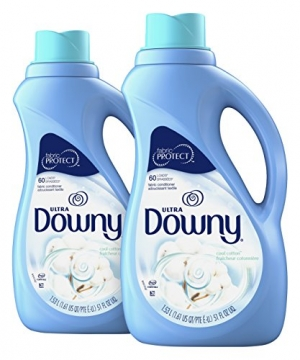 ihocon: Downy Ultra Cool Cotton Liquid Fabric Conditioner, 51 fl oz (Pack of 2)衣物柔軟劑
