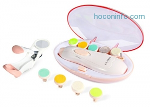 ihocon: OLAXER Baby Nail Trimmer with LED Front Light 嬰/幼兒電動磨指甲器