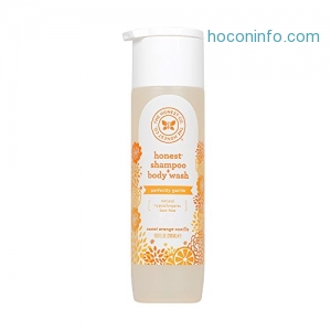 ihocon: Honest Perfectly Gentle Hypoallergenic Shampoo and Body Wash with Naturally Derived Botanicals, Sweet Orange Vanilla, 10 Fluid Ounce
