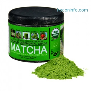 ihocon: Ceremonial Grade Matcha Green Tea Powder USDA Organic & EU Organic Certified, 35g有機抹茶粉