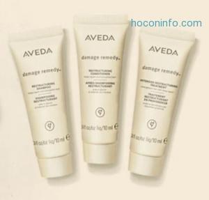 Aveda: 購物就送3個贈品 + free shipping