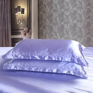 ihocon: Colorful Mart Silk Pillowcase, 2 Standard Pillowcases 絲質枕頭