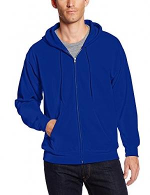 ihocon: Hanes Men's Full-Zip EcoSmart Fleece Hoodie 男士連帽夾克