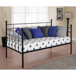 ihocon: Hayley Twin Daybed, Black 金屬床架