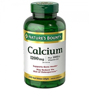 ihocon: Natures Bounty Absorbable Calcium, 1200mg, Plus 1000IU Vitamin D3鈣