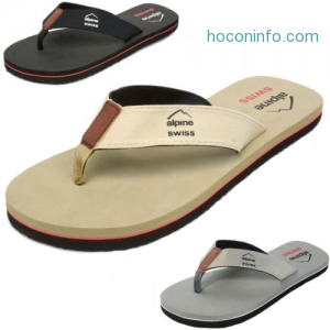 ihocon: Alpine Swiss Men's Flip Flops