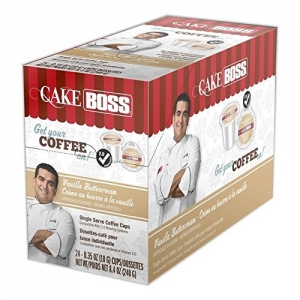 ihocon: Cake Boss Coffee Vanilla Buttercream, 24 Count 咖啡膠囊 24粒