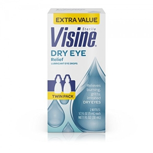 ihocon: Visine Tears Dry Eye Relief Lubricant Eye Drops.5 Fl. Oz (Pack Of 2)潤眼液2瓶