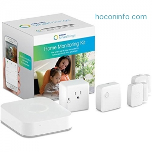 ihocon: Samsung SmartThings 智能家居監測套件 Home Monitoring Kit