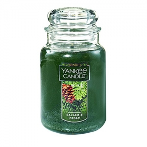 ihocon: Yankee Candle Large Jar Candle, Balsam & Cedar 大瓶蠟燭
