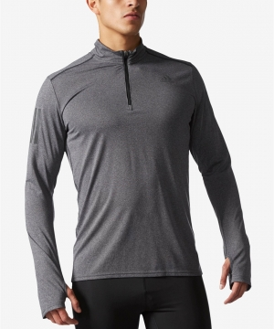 ihocon: adidas Men's ClimaLite® Response Half-Zip Running Top