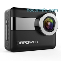 ihocon: DBPOWER N6 4K Touchscreen 170° Wide-Angle Waterproof WiFi Action Camera