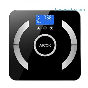 ihocon: Aicok Body Fat Scale體脂體重計