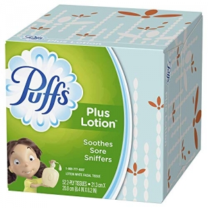 ihocon: Puffs Plus Lotion Facial Tissues, 10 Cubes, 52 Tissues per Cube  面紙