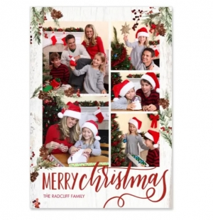 [快做聖誕卡] Walgreens送免費 6張卡片 (價值$20.99)