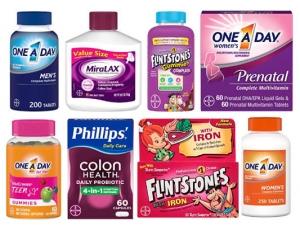 [Amazon 今日特賣] One A Day, Flintstones及其他Bayer維他命及保健品(共2頁) 特價優惠