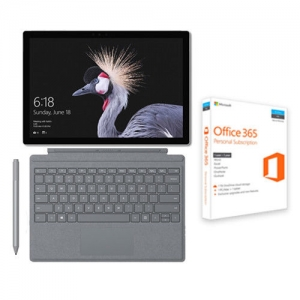ihocon: Surface Pro i5 8GB 128GB & Platinum Type Cover + Surface Pen + Office 365 Bundle