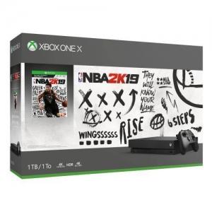 Xbox One X 1TB NBA 2K19 Bundle  $395.99免運(原價$499, 21% Off)