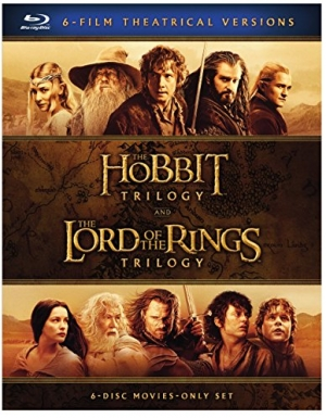 ihocon: The Hobbit Trilogy and The Lord of the Rings Trilogy 哈比特人三部曲+魔戒三部曲 (Blu-ray)