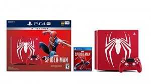 ihocon: PlayStation 4 Pro 1TB Limited Edition Console - Marvel's Spider-Man Bundle