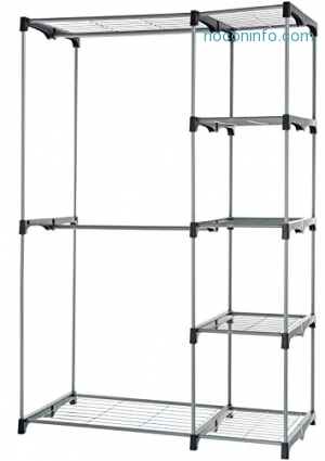 ihocon: AmazonBasics 組合式衣櫥 Double Rod Freestanding Closet