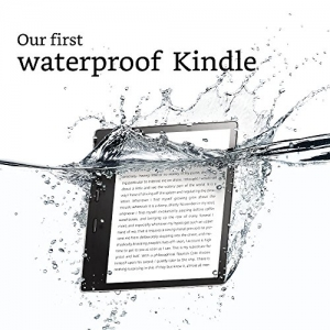 ihocon: Kindle Oasis E-reader - Graphite, 7 High-Resolution Display (300 ppi), Waterproof, Built-In Audible, 8 GB, Wi-Fi - Includes Special Offers