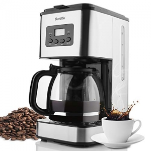 ihocon: Barsetto 10 Cup Programmable Coffee Machine Stainless 不銹鋼可自訂程序咖啡機